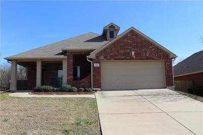 Mansfield Single Family Home For Sale: 1110 Thicket Drive