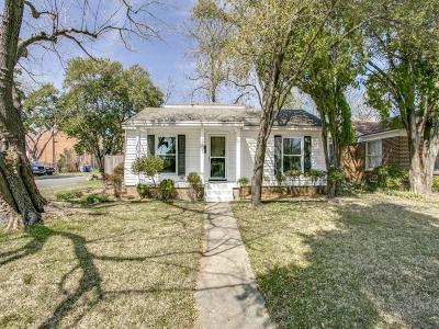Dallas Single Family Home For Sale: 8903 San Fernando Way