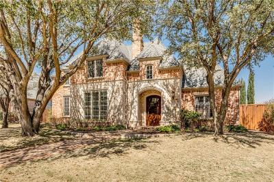 Plano TX Single Family Home For Sale: $884,900