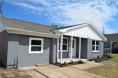 Garland Single Family Home Active Option Contract: 1710 Delmar Drive
