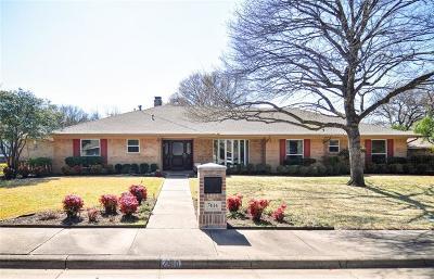 Dallas Single Family Home For Sale: 7414 Chattington