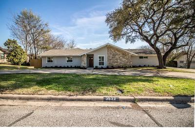 Farmers Branch Single Family Home For Sale: 3532 Apple Valley Drive