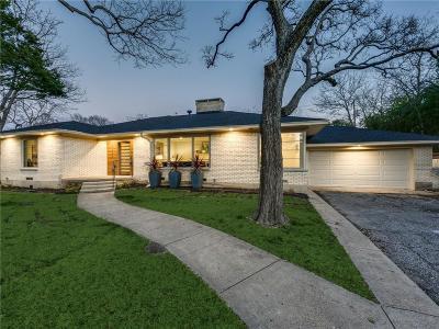 Dallas Single Family Home For Sale: 9606 Losa Drive