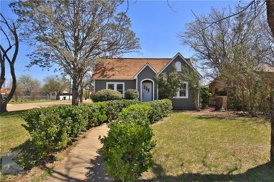 Single Family Home For Sale: 1601 Sycamore Street