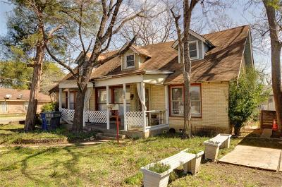 Dallas TX Single Family Home For Sale: $155,000