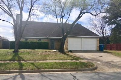 Flower Mound Single Family Home Active Option Contract: 1723 Buckeye Drive