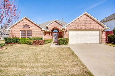 North Richland Hills Single Family Home Active Option Contract: 6125 Pebble Creek Drive