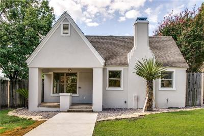 Fort Worth Single Family Home For Sale: 3501 W 6th Street