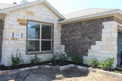 Wylie Single Family Home For Sale: 318 Lake Travis Drive