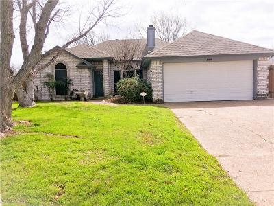 Burleson Single Family Home For Sale: 144 Sunny Meadows Drive