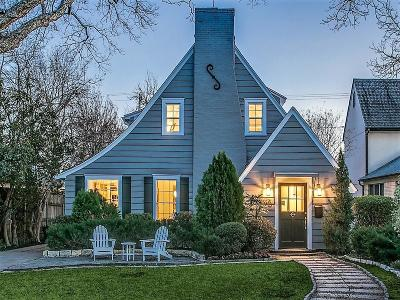 Dallas Single Family Home For Sale: 5526 Monticello Avenue