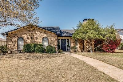 Plano TX Single Family Home Active Option Contract: $294,900