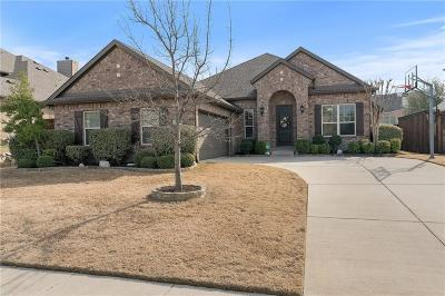 Frisco Single Family Home Active Option Contract: 9746 Downbrook Drive