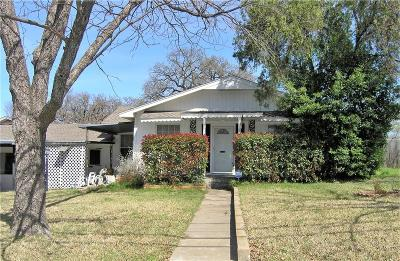 Fort Worth Single Family Home For Sale: 4459 Normandy Road