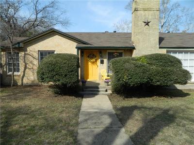 River Oaks Single Family Home For Sale: 817 Merritt Street