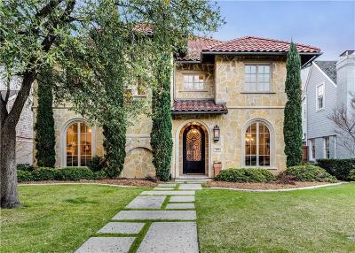 University Park Single Family Home For Sale: 4404 Hanover Street