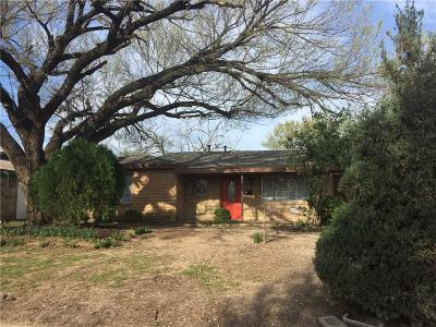 Richland Hills Single Family Home Active Option Contract: 2613 Willow Park Street