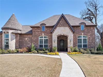 Flower Mound Single Family Home Active Option Contract: 2812 Winding Path Way