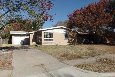 Single Family Home For Sale: 3043 Rotan Lane