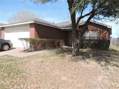 Mesquite Single Family Home Active Option Contract: 2804 Quail Run Drive