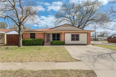 Mesquite Single Family Home For Sale: 1502 Buena Vista Street