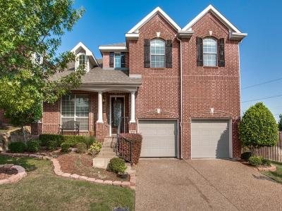 Irving Single Family Home Active Option Contract: 8745 Rugby Drive