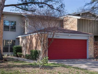 Euless Townhouse For Sale: 1314 El Camino Real