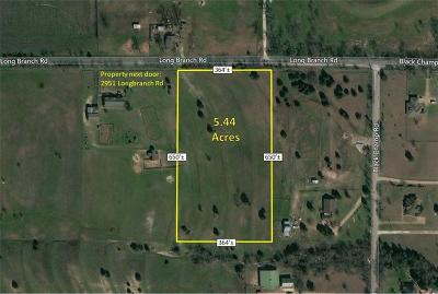 Waxahachie Residential Lots & Land Active Option Contract: 0000 Longbranch Road