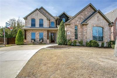 Keller Single Family Home For Sale: 1704 Lewis Crossing Drive