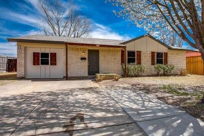 Mesquite Single Family Home Active Option Contract: 704 Keystone Street