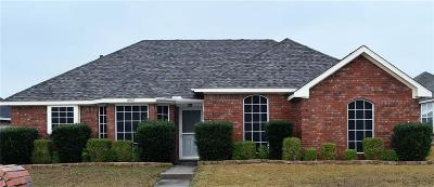 Mesquite Single Family Home For Sale: 1802 Hillwood Drive