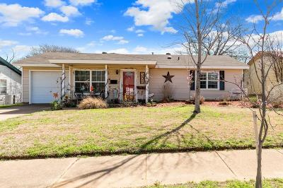 Euless Single Family Home For Sale: 506 Limestone Drive
