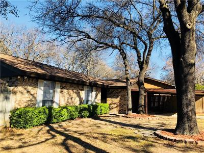 Azle Single Family Home Active Option Contract: 220 Lilac Lane