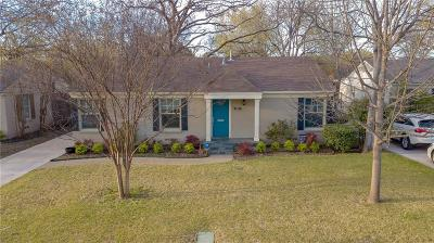Dallas Single Family Home For Sale: 4923 Thrush Street