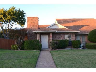 Plano Half Duplex For Sale: 3907 Irvine Drive