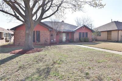 Mesquite Single Family Home For Sale: 2521 Brushwood Lane