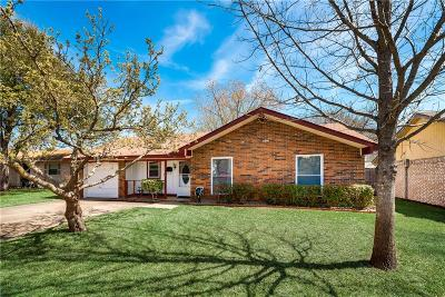 Mesquite Single Family Home For Sale: 1222 Rancho Drive