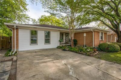 Carrollton Single Family Home Active Option Contract: 1111 Noble Avenue