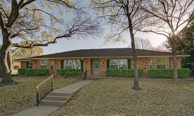 Fort Worth Single Family Home Active Option Contract: 6607 Sabrosa Court E
