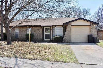 Haltom City TX Single Family Home For Sale: $155,000