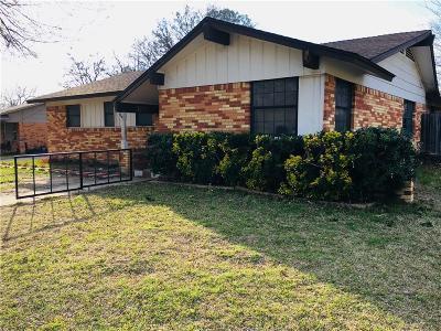 Arlington TX Single Family Home For Sale: $119,900
