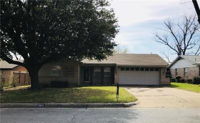 Fort Worth Single Family Home For Sale: 6221 Sandra Drive