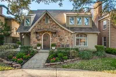 Highland Park Single Family Home For Sale: 3609 Normandy Avenue