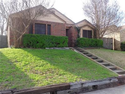 Mesquite Single Family Home For Sale: 1800 Lemonwood Circle