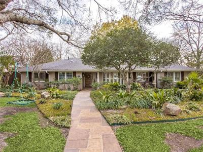 Dallas TX Single Family Home For Sale: $975,000
