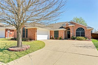 Wylie Single Family Home Active Option Contract: 1812 Country Walk Lane