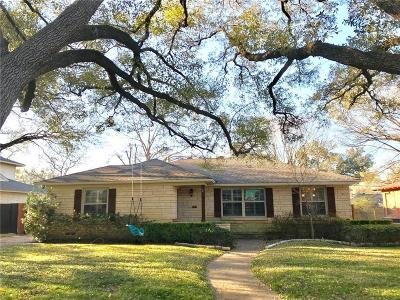 Dallas Single Family Home For Sale: 4174 Lively Lane