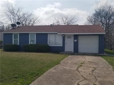 Dallas Single Family Home For Sale: 5721 Bellcrest Drive