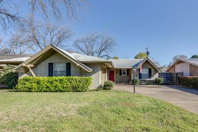 Irving Single Family Home Active Option Contract: 1905 Cordova Bend