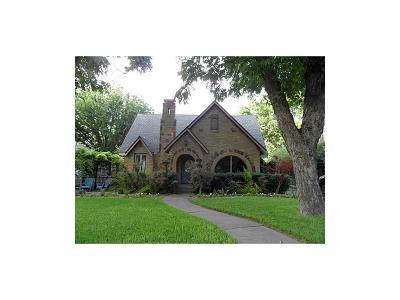 Dallas Single Family Home For Sale: 510 Valencia Street